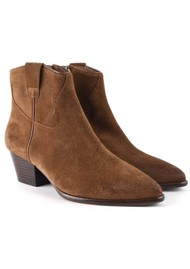 Ash Houston Brushed Suede Boots - New Cinnamon