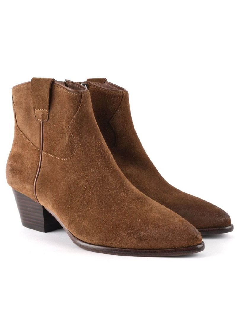 Ash Houston Brushed Suede Boots - New Cinnamon main image