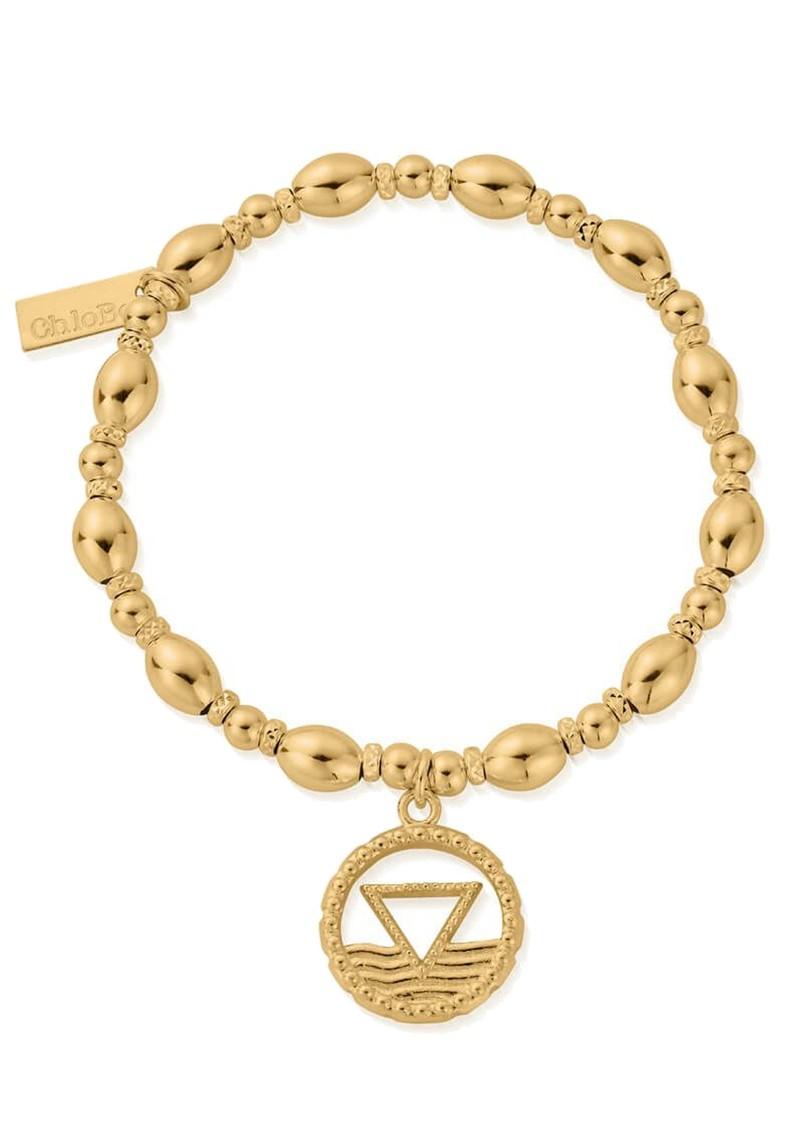 ChloBo Sacred Earth Oval Bead Water Bracelet - Gold main image