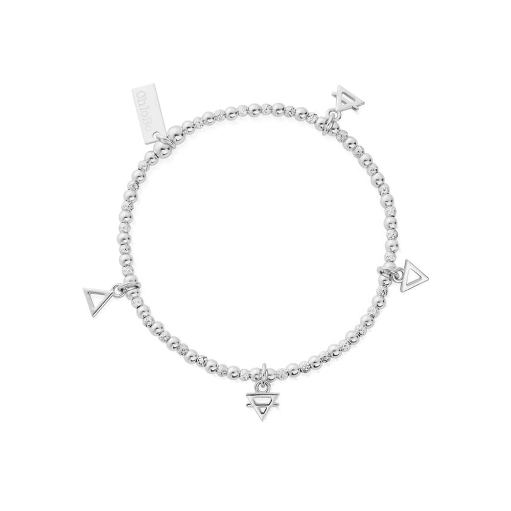 Sacred Earth Multi Charm Elements Bracelet - Silver