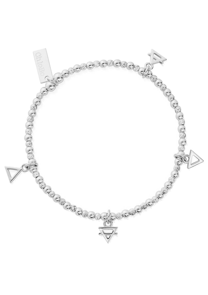 ChloBo Sacred Earth Multi Charm Elements Bracelet - Silver main image