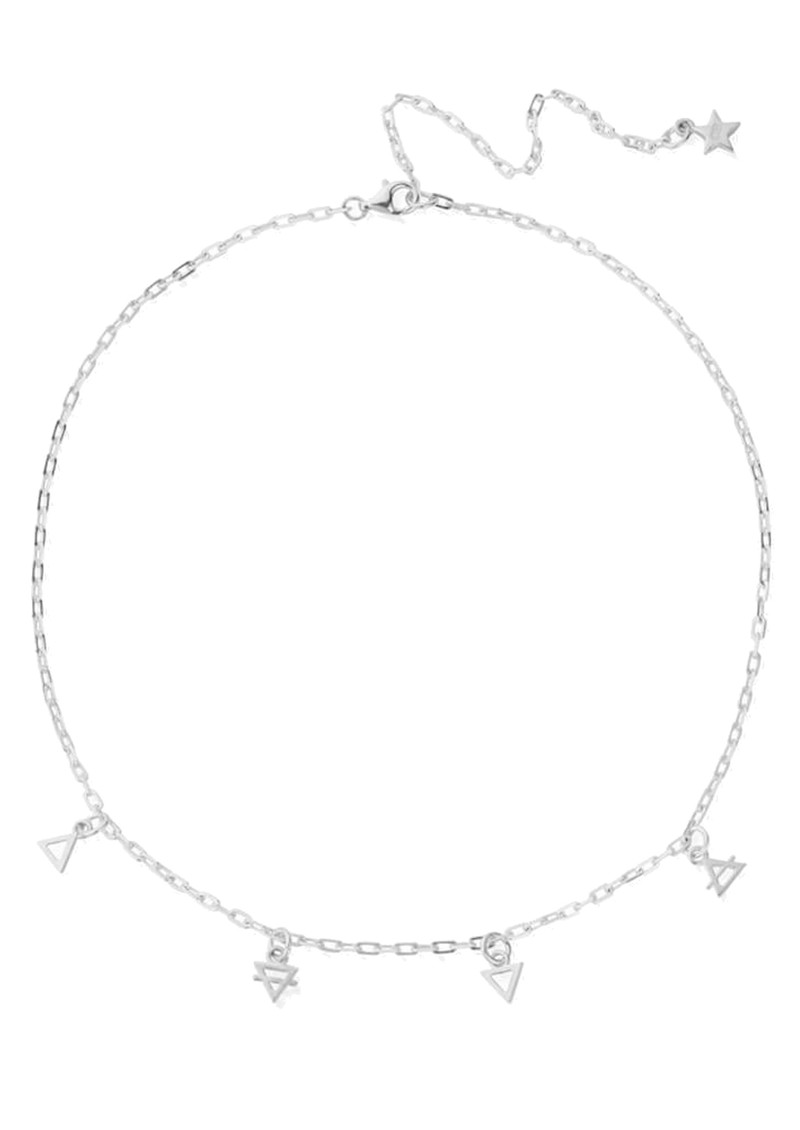 ChloBo Sacred Earth Elements Choker Necklace - Silver main image