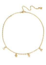 ChloBo Sacred Earth Elements Choker Necklace - Gold