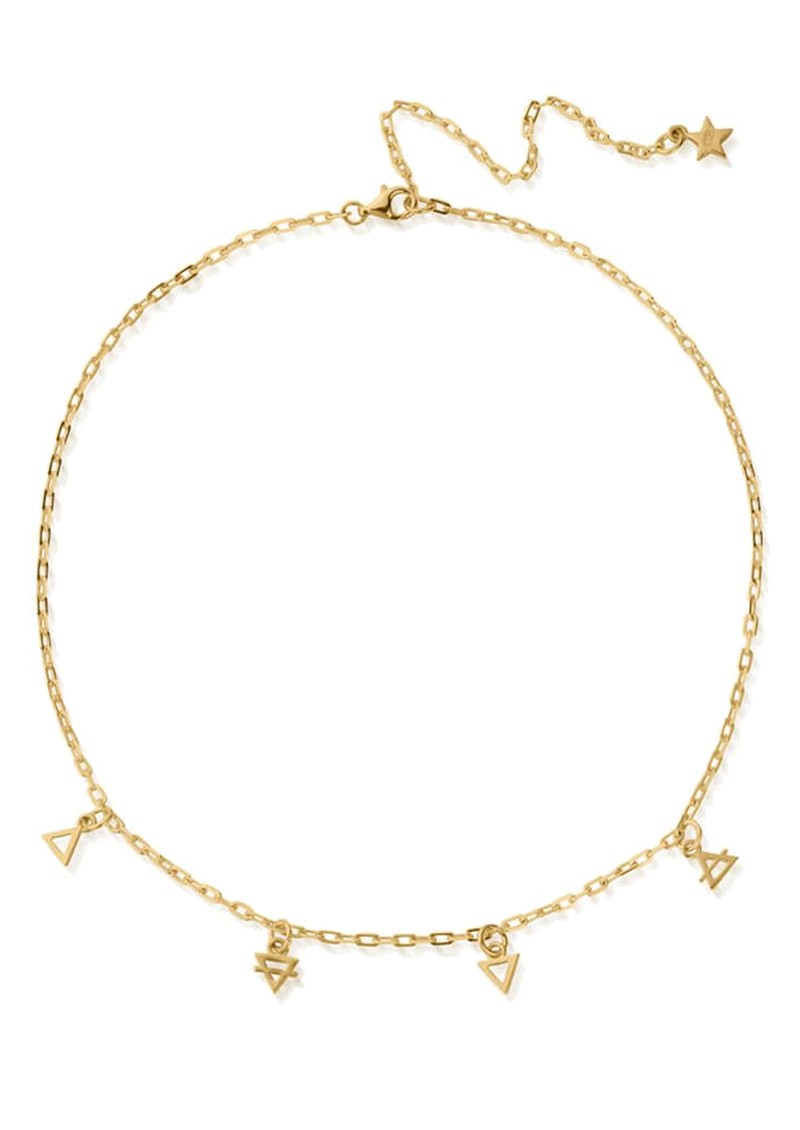 ChloBo Sacred Earth Elements Choker Necklace - Gold main image