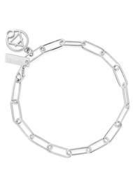 ChloBo Sacred Earth Link Chain Air Bracelet - Silver