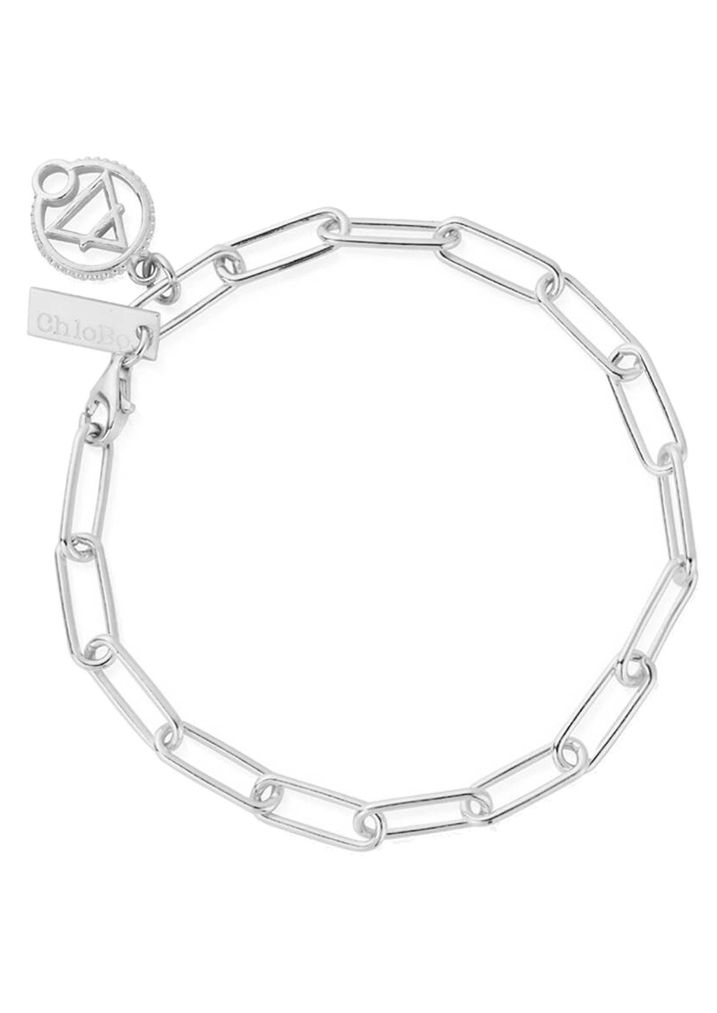 ChloBo Sacred Earth Link Chain Air Bracelet - Silver  main image