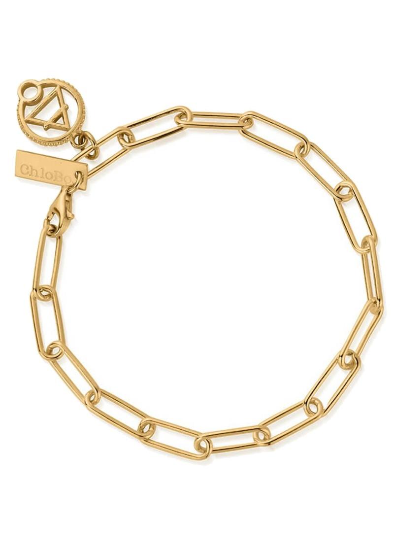 ChloBo Sacred Earth Link Chain Air Bracelet - Gold main image