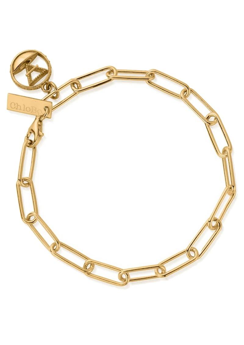 ChloBo Sacred Earth Link Chain Earth Bracelet - Gold main image