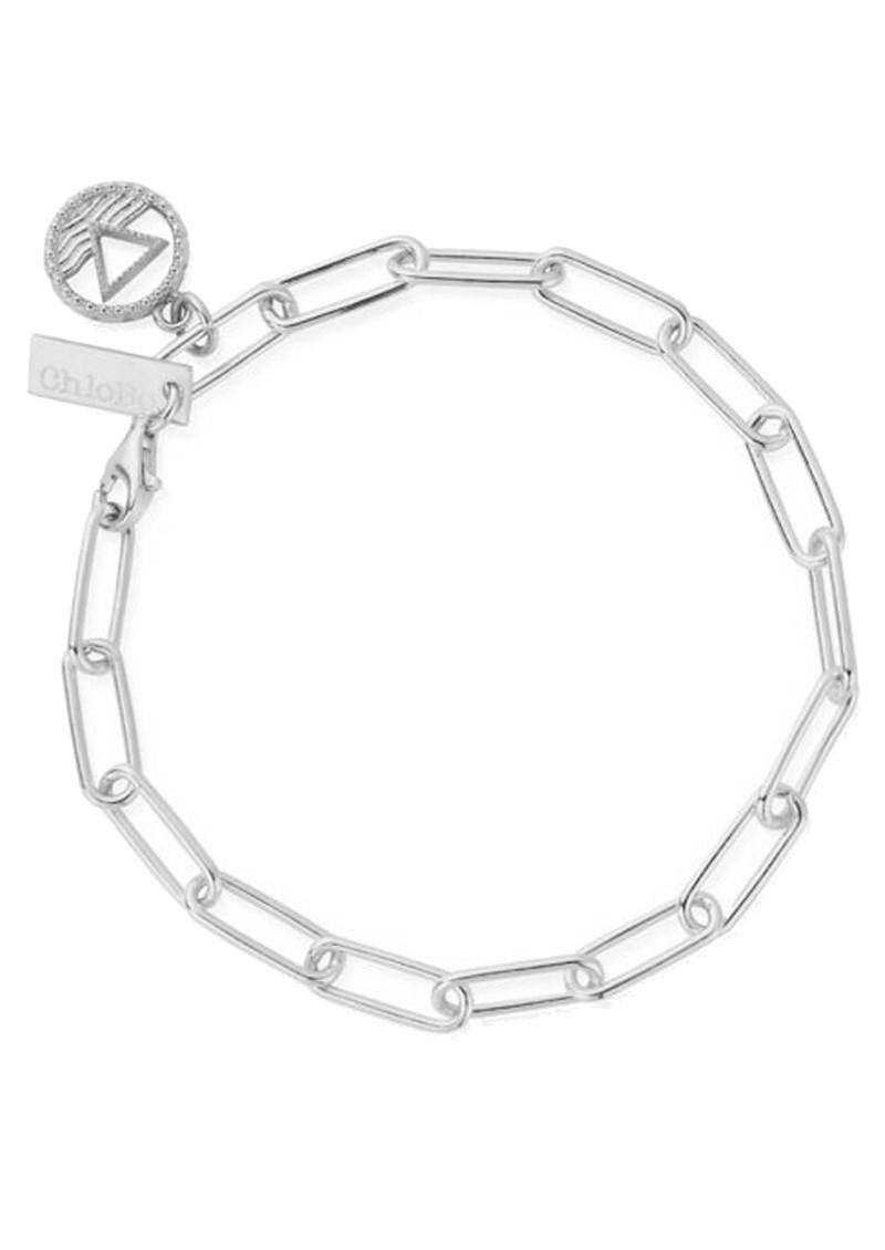 ChloBo Sacred Earth Link Chain Water Bracelet - Silver main image