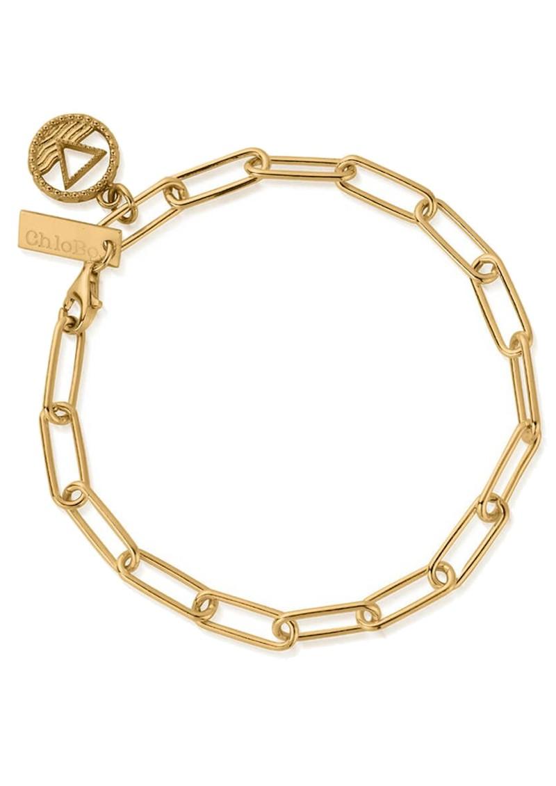 ChloBo Sacred Earth Link Chain Water Bracelet - Gold main image