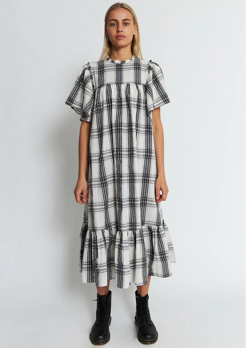 STELLA NOVA Pen Dress - Creme Check main image