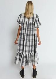 STELLA NOVA Pen Dress - Creme Check