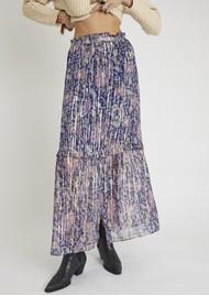 BERENICE Jomeo Maxi Printed Skirt - Santa Giulia