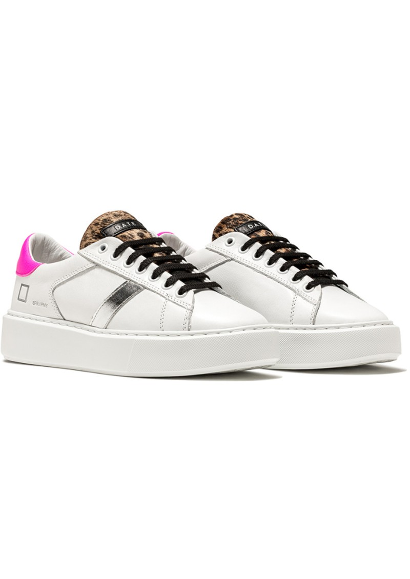D.A.T.E Sfera Leather Trainers - Pony Leather main image