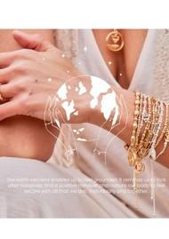 ChloBo Box Chain Earth Necklace - Silver