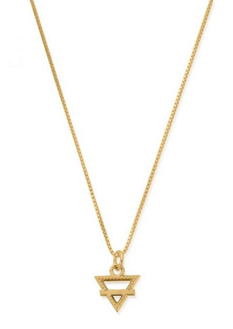 ChloBo Box Chain Earth Necklace - Gold main image