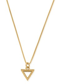 ChloBo Box Chain Water Necklace - Gold