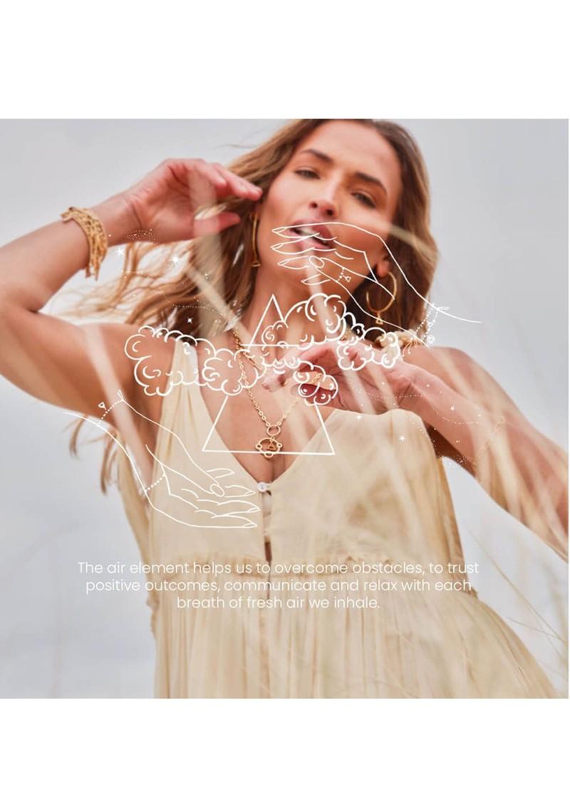 ChloBo Sacred Air Pendant Necklace - Silver  main image