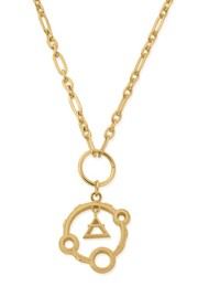 ChloBo Sacred Air Pendant Necklace - Gold