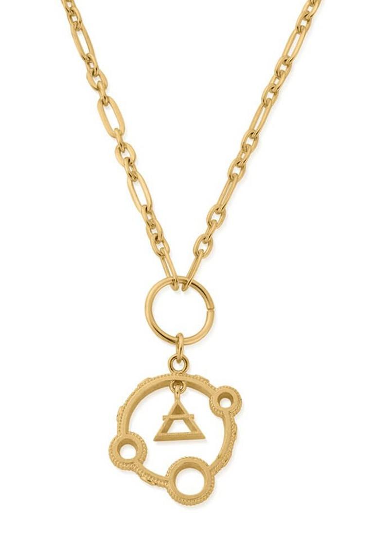 ChloBo Sacred Air Pendant Necklace - Gold main image