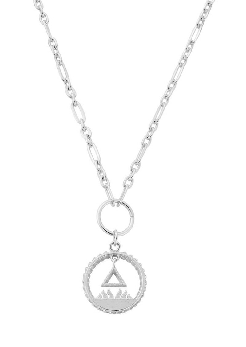 ChloBo Sacred Fire Pendant Necklace - Silver main image