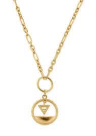 ChloBo Sacred Earth Pendant Necklace - Gold