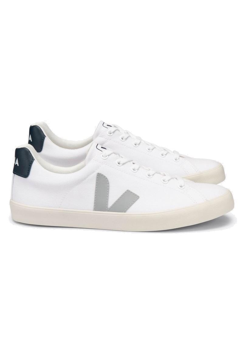 VEJA Esplar Se Canvas Trainers - White, Oxford Grey & Nautico main image