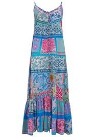 INOA Frill Strap Silk Maxi Dress - Martinque