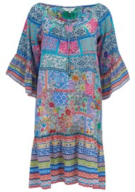 INOA Gypsy Crystal Silk Dress - Martinique