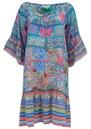 Gypsy Crystal Silk Dress - Martinique additional image