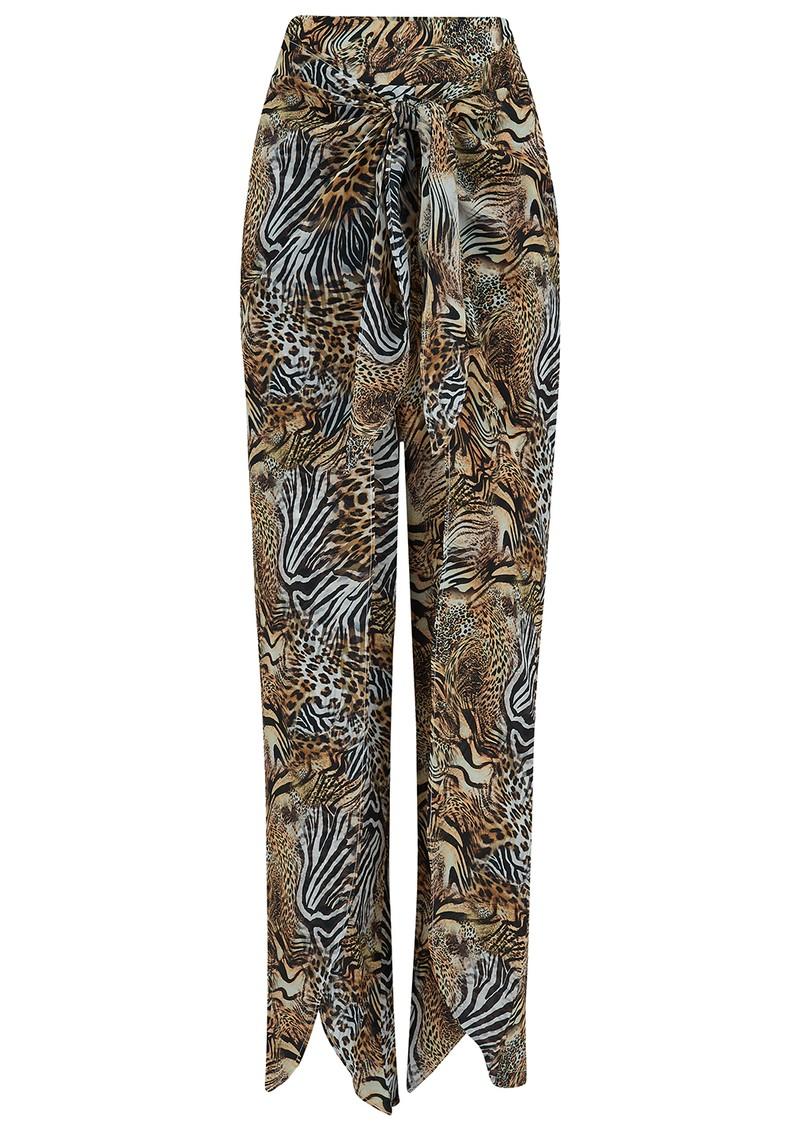 INOA Fishermen Silk Trousers - Savannah main image