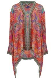 INOA Short Silk Printed Shrug - Modena