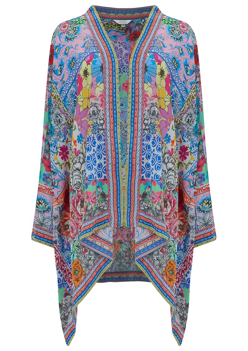 INOA Short Silk Printed Shrug - Martinique main image