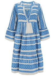 DEVOTION Ella Midi Dress - Blue