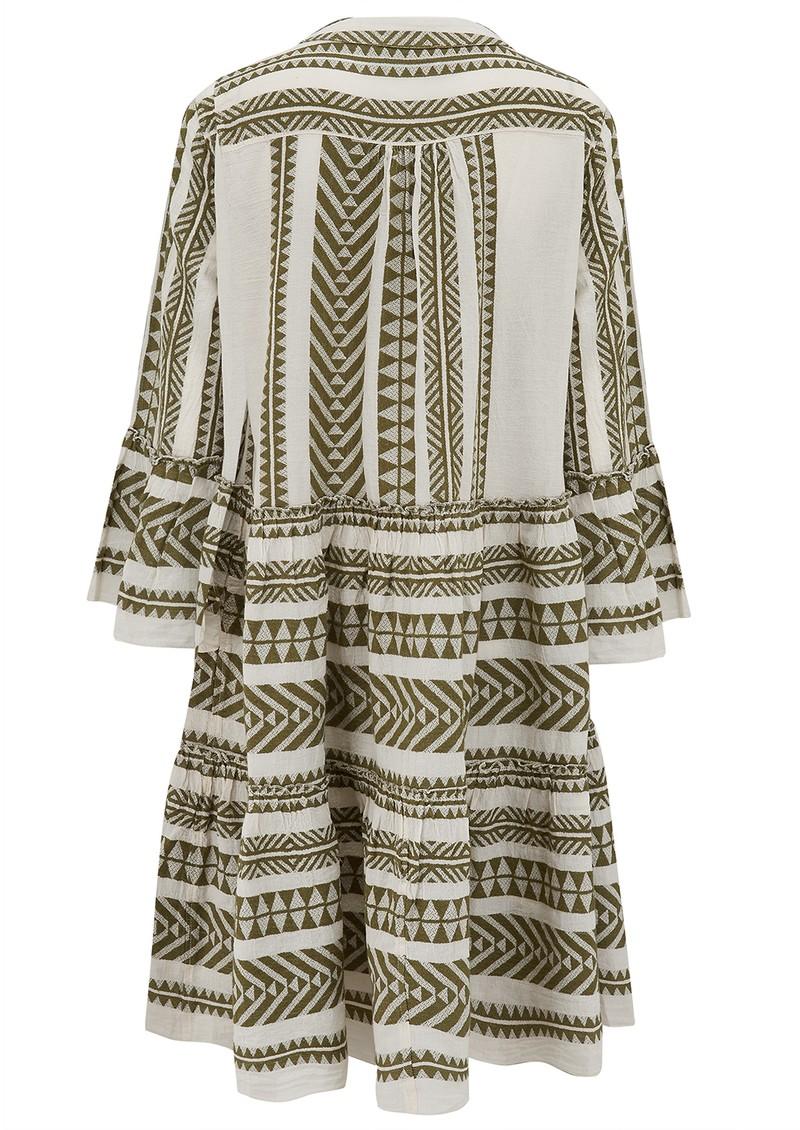 DEVOTION Ella Midi Dress - Khaki main image