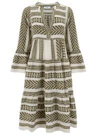 DEVOTION Ella Midi Dress - Khaki