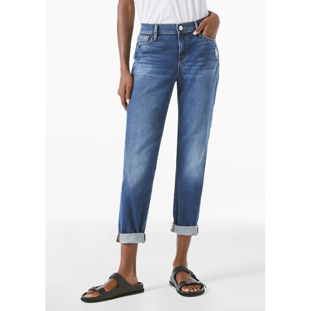 Le Garcon Relaxed Fit Jeans - Azure