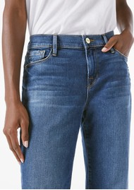 Frame Denim Le Garcon Relaxed Fit Jeans - Azure