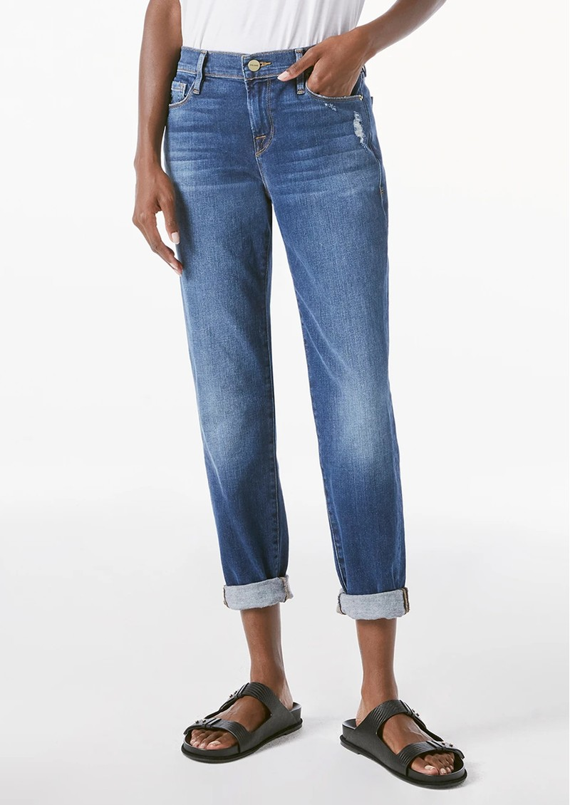 Frame Denim Le Garcon Relaxed Fit Jeans - Azure main image