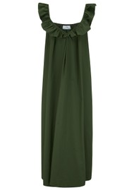 DEVOTION Midi Cotton Dress - Olive