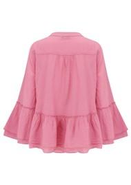 DEVOTION Armonia Cotton Blouse - Pink