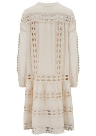 DEVOTION Smock Cotton Dress - Natural