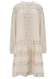 DEVOTION Smock Cotton Dress - Natural