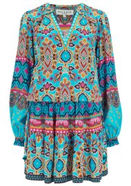 Hale Bob Oona Dress - Turquoise