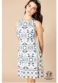 Hale Bob Nell Jersey Dress - Ivory