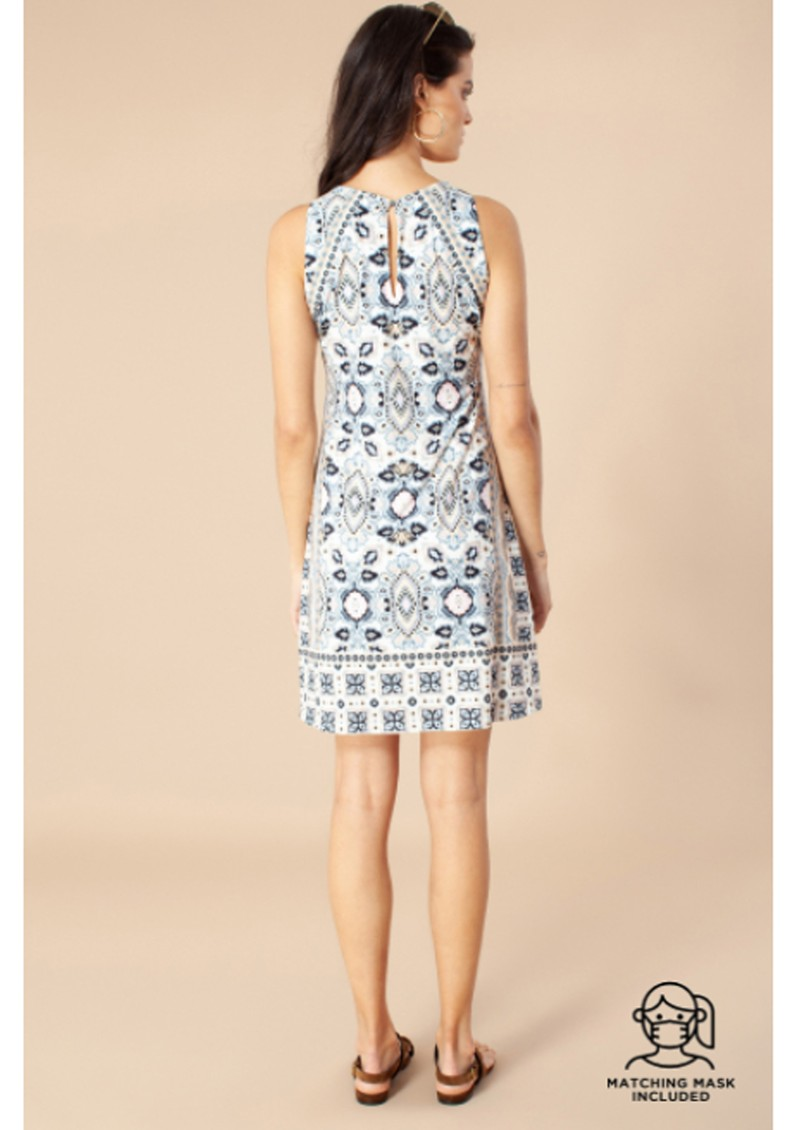 Hale Bob Nell Jersey Dress - Ivory main image