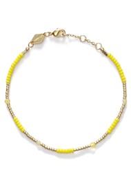 ANNI LU Clemence Bracelet - Lemon