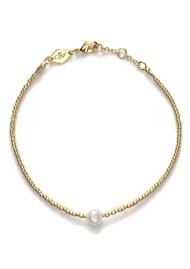 ANNI LU Pearly Bracelet - Gold