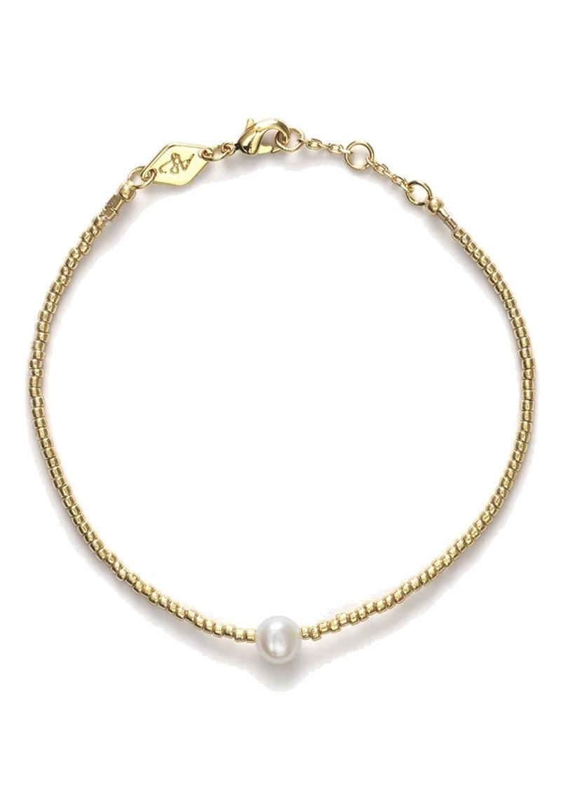 ANNI LU Pearly Bracelet - Gold main image