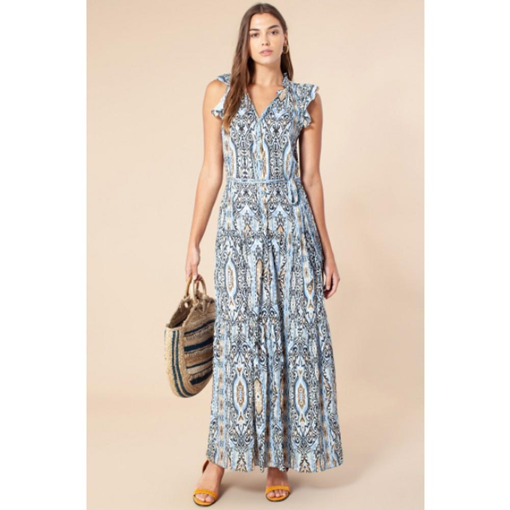 Bridget Maxi Dress - Blue
